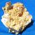 Crystalline quartz pocket gold specimen