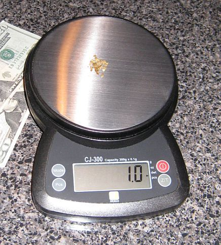 Gold Weights Measures More